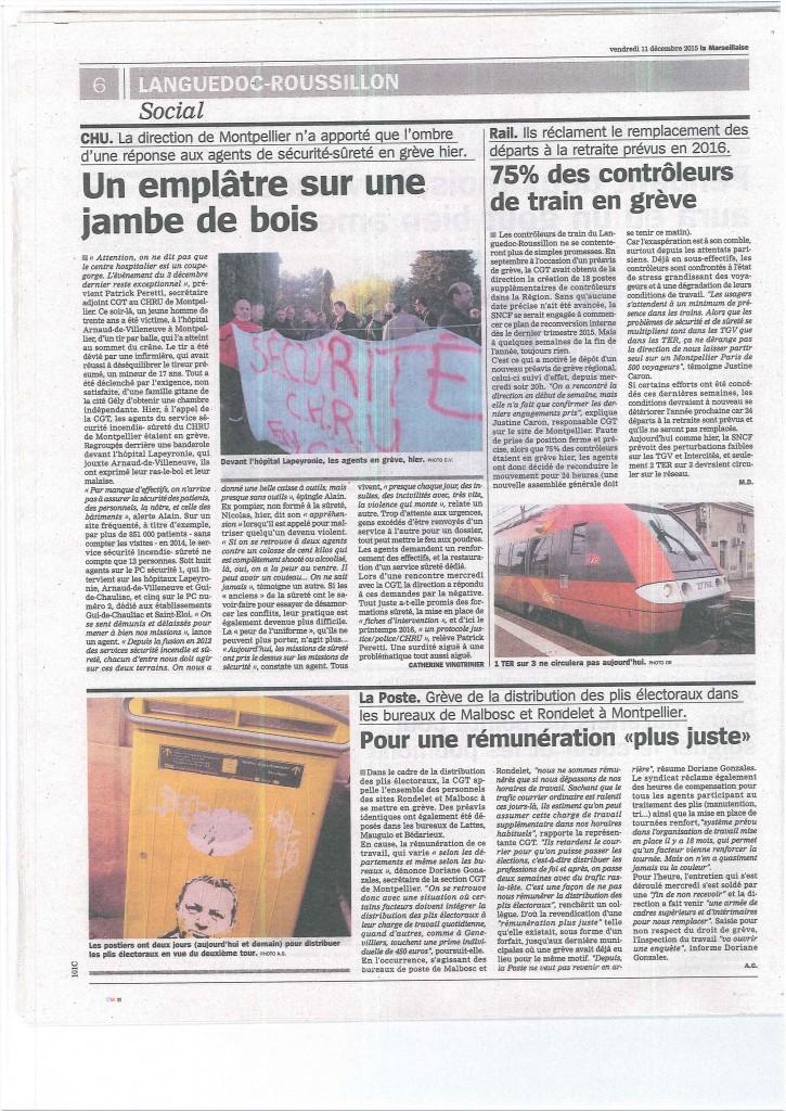 Marseillaise 11 décembre